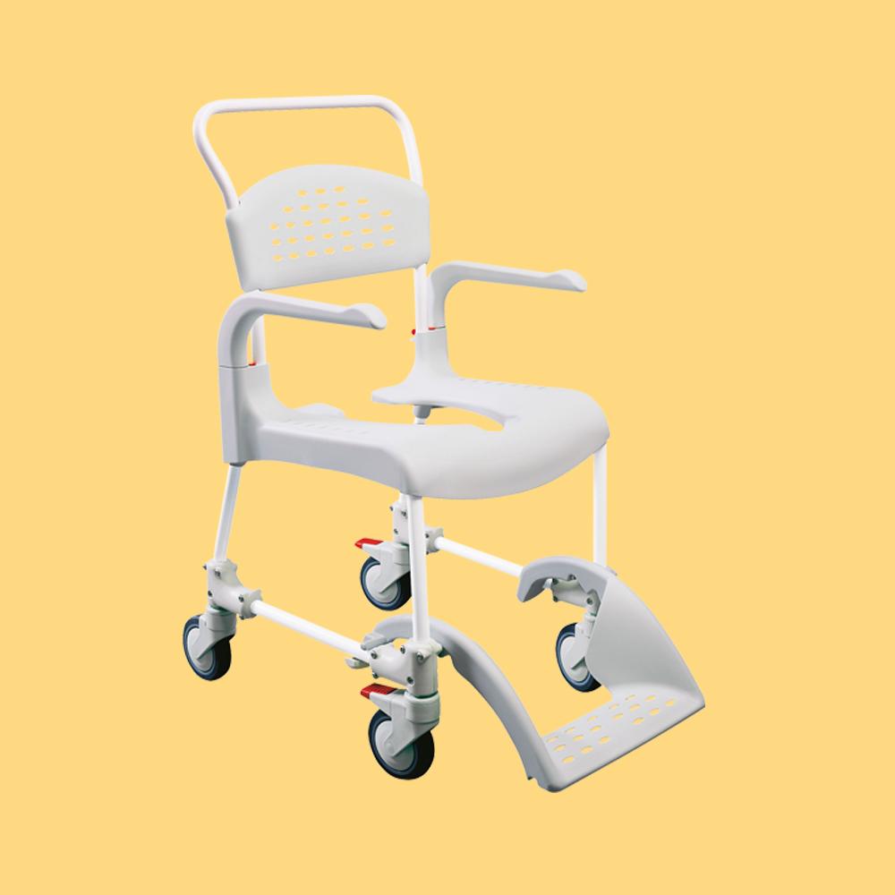 chaise de douche mobile etac clean vivetis. Black Bedroom Furniture Sets. Home Design Ideas