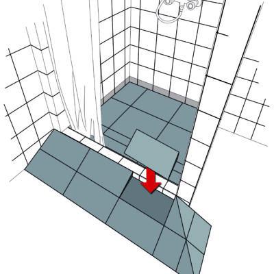 rampe fixe vivetis. Black Bedroom Furniture Sets. Home Design Ideas