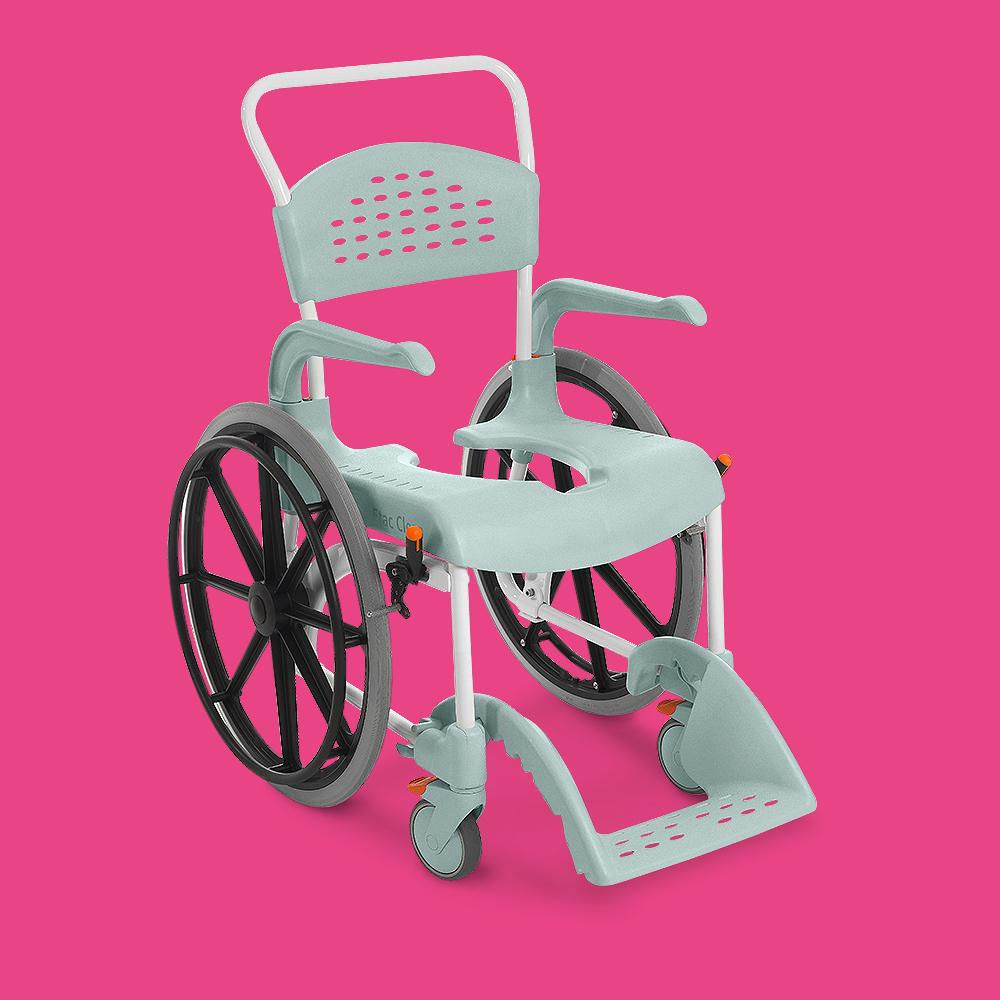 chaise de etac clean grandes roues vivetis